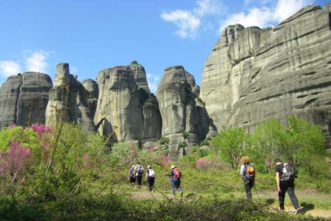 Hiking in Meteora