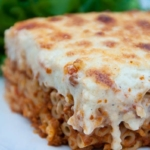 Traditional Greek cuisine - How to make pastitsio